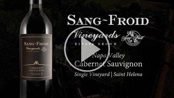 Sang~Froid Vineyards | Home